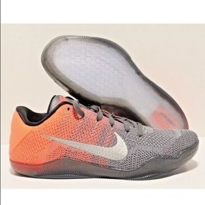 new styles cfdad a6d3a Nike Shoes - Nike Flyknit Kobe 11 XI Elite Low Easter Grey